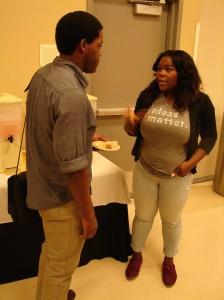 Flintisha Wilson, CSULA Communications Major advises peers on internships