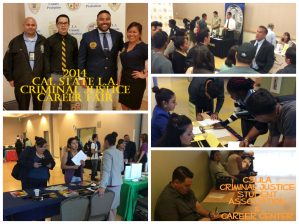 Cal State L.A. Criminal Justice Career Fair 2014